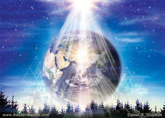 Divine Mother is Holding the Vision of Nova Earth