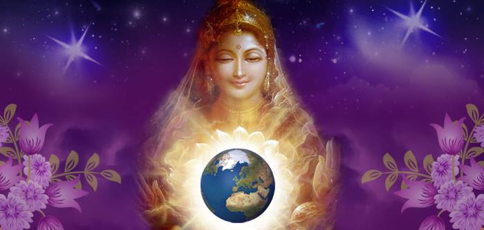 "Divine Mother: ""This universe was created from love and is love!"""