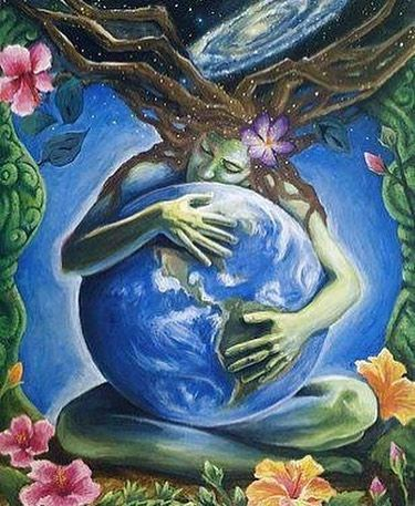 Archangel Gi'Anna ~ Embodying planet Earth as a petri dish for love